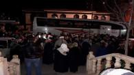Yozgat'tan 40 kişi Umre ibadeti için dualarla uğurlandı