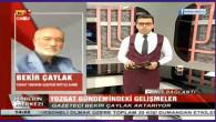 Bekir Çaylak Yozgat'ın haftalık gündemini Kayseri TV1'e değerlendirdi