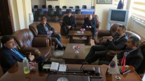 Milletvekili Başer'den TSO Başkanı Alakoç'a ziyaret