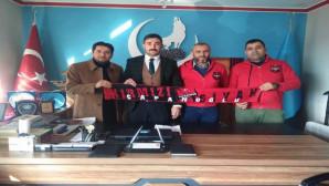 Çapanoğlu Taraftarlar Derneğinden AK Parti ve Ülkü Ocaklarına ziyaret