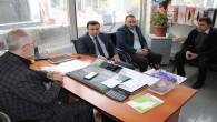 ÇEDAŞ Müdürü Yılmaz'dan Gazeteciler Günü ziyareti