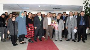 Yozgat'ta yükümlülerden huzurevi ziyareti