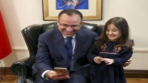 Başbakan Yardımcısı Bozdağ, küçük Irmak'ı ağırladı