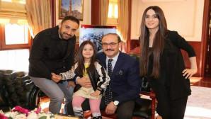 Vali Yurtnaç, Küçük Irmak ve ailesini konuk etti