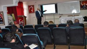 İl Milli Eğitimden personeline hizmet içi eğitim