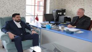 TÜGVA İl Temsilcisi Büyüksoy'dan gazetemize ziyaret