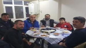 Yozgat Futbol İl Temsilcisi Karakoç'tan arabaşı yemeği