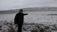 Kar yağışı çiftçiyi sevindirdi