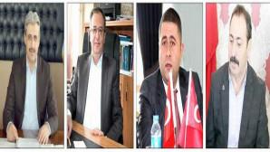 Yozgat'ta siyasi partilerden bayrak asma seferberliği
