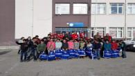Kızılay'dan köy okullarındaki 650 öğrenciye kıyafet yardımı