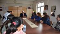 İl Milli Eğitim Müdürü Yazıcı, okul ziyaretlerini sürdürüyor