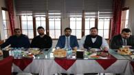 AK Parti Gençlik Kolları Başkanı, yönetimini basına tanıttı