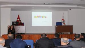 """Yozgat'ta hükümlülere """"etkili iletişim"""" konulu seminer verildi"""