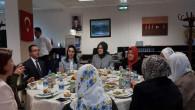 Vali Yurtnaç'ın eşi Dilek Yurtnaç Şehit aileleri ile bir araya geldi