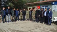 Şerefli ve ekibi yeniden Afrin sınırında Mehmetçiklerle buluştu