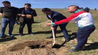 Ülkü Ocakları 3 Bin fidanı toprakla buluşturdu