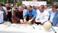 Vali Yurtnaç ve Başkan Arslan, testi kebabı hazırladı
