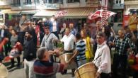 CHP'liler Keven'in Milletvekilliliğini davullu zurnalı halayla kutladı