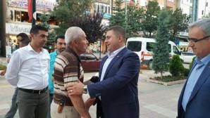 Milletvekili Sedef, teşekkür ziyaretlerini sürdürüyor