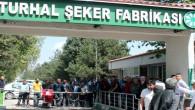 Turhal Şeker Fabrikası işçileri özlük hakları ile işlerine devam ediyor