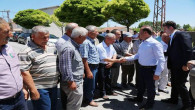 Vali Yurtnaç, Devecipınar ve Poyrazlı köylerinde incelemede bulundu