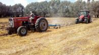 Hasat dönemiyle çiftçinin yoğun çalışma mesaisi başladı