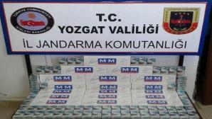 Yozgat'ta 330 paket kaçak sigara ele geçirildi