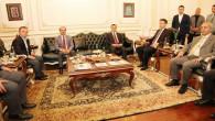 AYM Başkanı Arslan, Yozgat Valisini makamında ziyaret etti