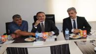 Bozdağ, Yozgat ve ilçe ziraat odası başkanları ile bir araya geldi