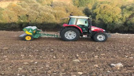 Yozgat'ta hububat ekim çalışmaları devam ediyor