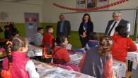 Yazıcı, okul ziyaretlerini Gülaylar ve Leman Ayan'la sürdürdü
