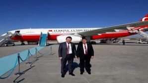 MHP'li Sedef, Cumhurbaşkanı Erdoğan'la Macaristan'a gitti