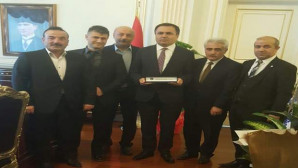 Yozgat SMMMO'dan Vali Çakır'a ziyaret