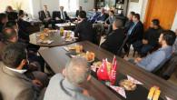 Vali Çakır OSB'deki yatırımcılarla bir araya geldi