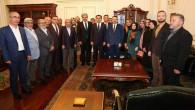 Siyasi Partilerden Vali Çakır'a hayırlı olsun ziyareti
