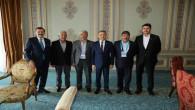 Borsa Başkanı Erkekli, tarımın sorunlarını Oktay'a iletti