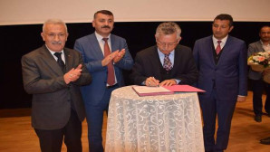Yozgat Belediyesinde toplu iş sözleşmesi imzalandı