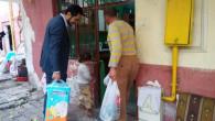 İnfak Derneğinden 200 aileye gıda ve yaşamsal yardım