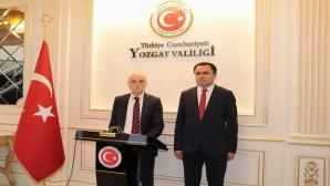 İçişleri Bakan Yardımcısı Tayyip Sabri Erdil Yozgat'a geldi
