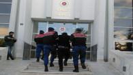 Pancar sulama borularını çalan şüpheliler tutuklandı
