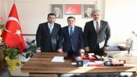 Milletvekili Başer'den Merkez İlçe Başkanı Kılıç'a hayırlı olsun ziyareti