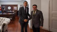 Başer'den Milli Eğitim Bakanı Selçuk'a ziyaret