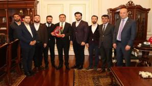MÜSİAD'dan Vali Çakır'a ziyaret