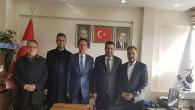 Eğitim Bir Sen'den AK Parti İl ve İlçe Başkanına ziyaret
