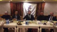 MÜSİAD Yozgat Şubesi üyeleri ile bir araya geldi