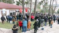 Millet kıraathanesi açıldı