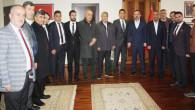 Kaya ve ekibinden Sincan Belediye Başkanı Ercan'a ziyaret