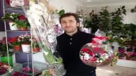 Yozgat'ta çiçekçiler sevgililer günü'ne hazır