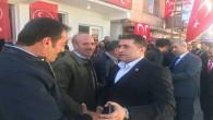 MHP Milletvekili Sedef, ilçelerde seçim çalışmalarını sürdürüyor