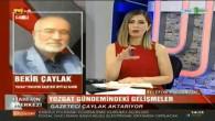 Bekir Çaylak, Kayseri TV1'e Yozgat'ın haftalık gündemini değerlendirdi